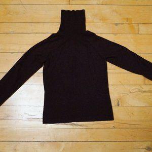 100% Cashmere Chocolate Brown Turtleneck Sweater